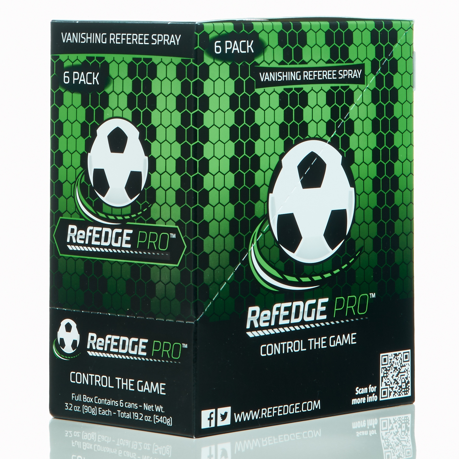 RefEDGE PRO™ - 6-Pack